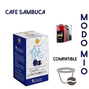 48 CAPSULES DE CAFÉ SAMBUCA COMPATIBLES Mondo Mio