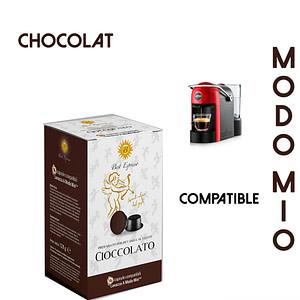 48 CAPSULES DE CAFÉ CHOCOLAT COMPATIBLES LAVAZZA MODO MIO