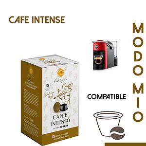 48 CAPSULES DE CAFÉ INTENSO COMPATIBLES LAVAZZA MODO MIO