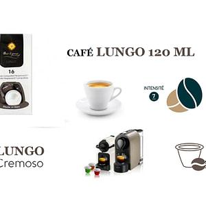 La capsule Italienne Lungo Nespresso